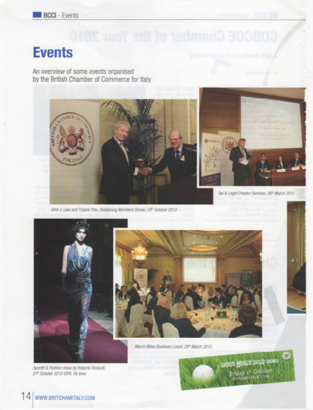 Britchamitaly 21st October 2010
