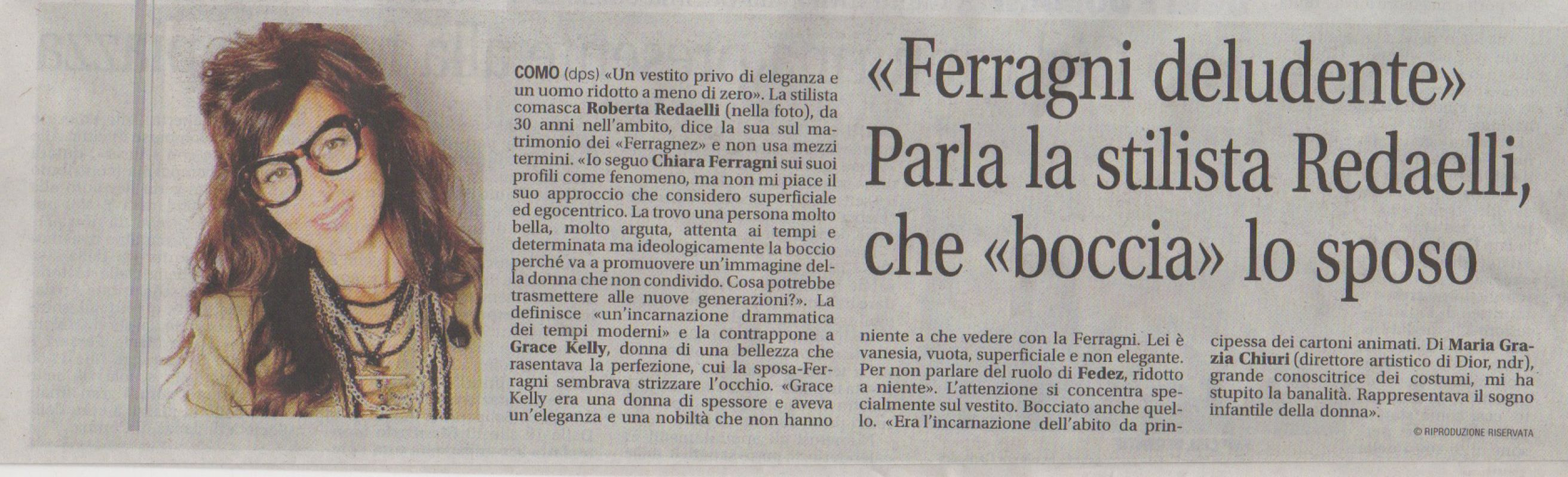 Il giornale di Cantù 8th September 2018 Roberta Redaelli