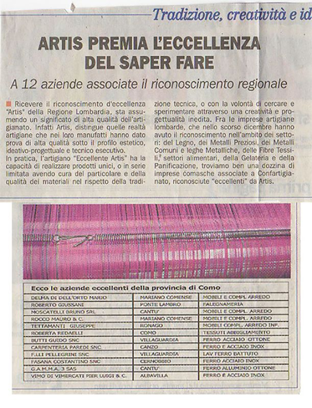 La Provincia di Como 4th March 2012 Roberta Redaelli