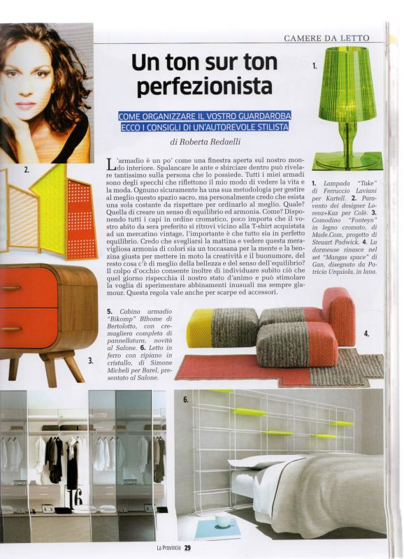 Magazine Salone del Mobile 10th April 2015 Roberta Redaelli